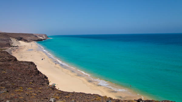 Playa Barca, Costa Calma, Fuerteventura, Canary Islands, Spain