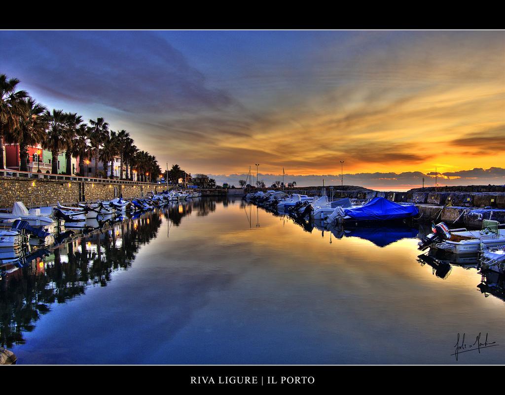 Il porto dei pescatori di Riva Ligure